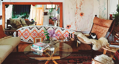 INSPIRED SPACES WITH ARTIST EMILY KATZ