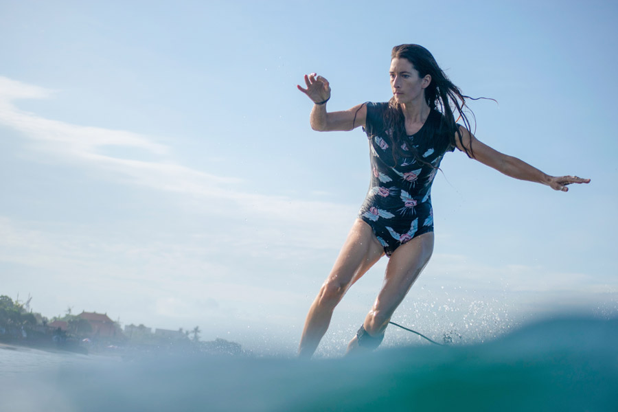 Surfing and yoga with Lucy