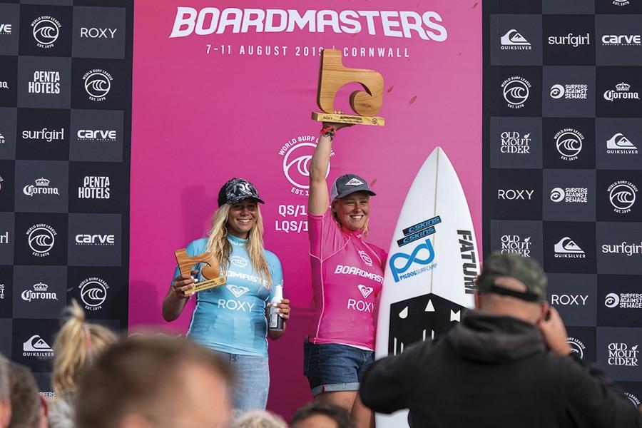 Boardmasters Crowns 2019 Surfing Winners