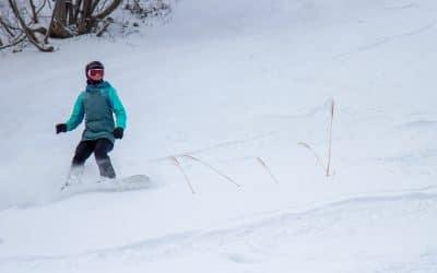 Surfing Powder in Japan's Coastal Ski Resort