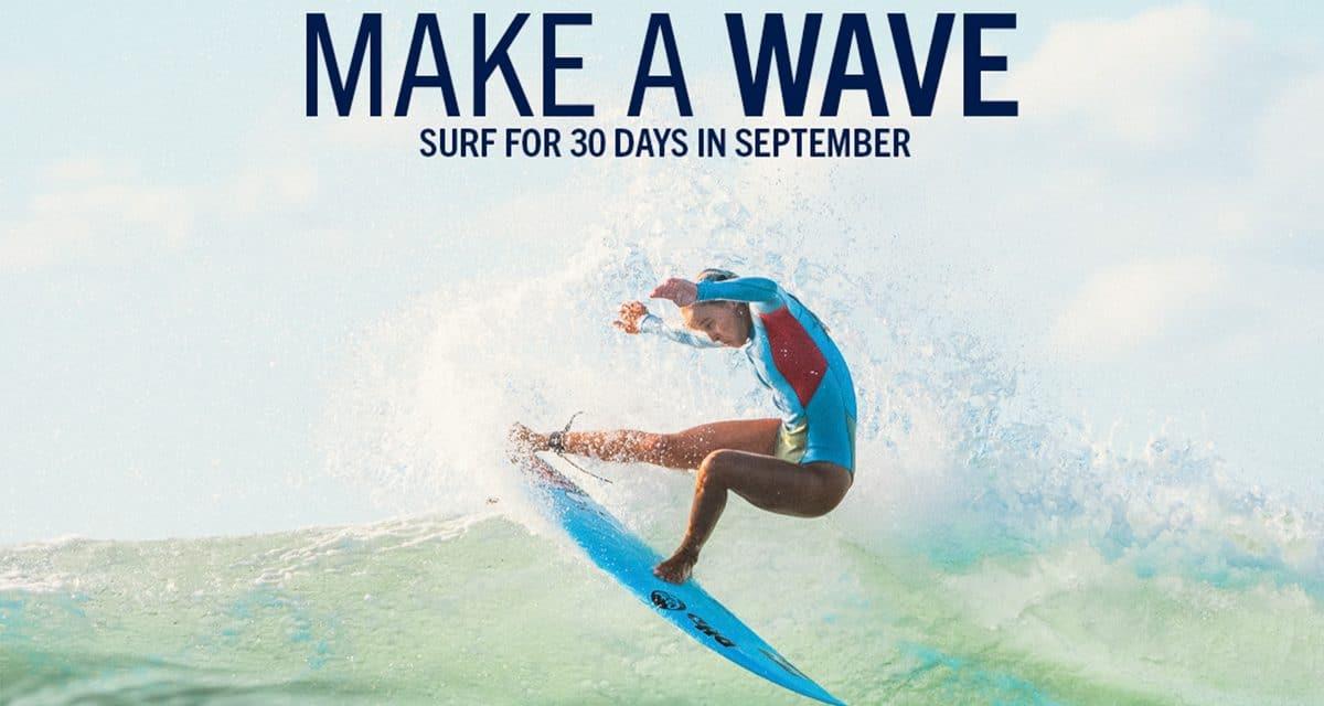 Hayley & Tee Join SurfAid's Make A Wave Challenge