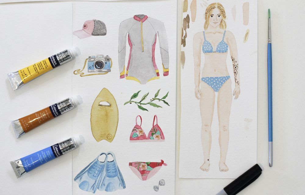 Get Creative With A Paper Doll Tutorial